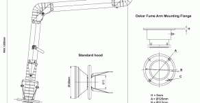 Oskar Standard Fume Arms Shop Drawings Uploaded