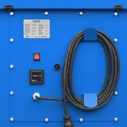 motor control panel with service hour meter