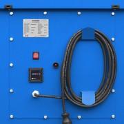 panel kontrolny z uchwytem na kabel