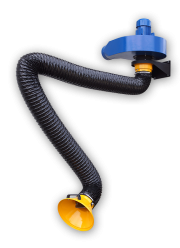 Flexible hose extraction arm with fan unit ZWR03