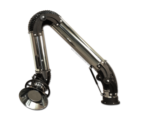 Oskar Stainless 160 extraction arm - standing version