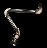 Nierdzewne ramię Oskar 75 (opcja z przewodem elastycznym PUR) - wersja wisząca