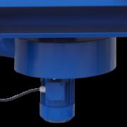 wentylator z aluminiowym wirnikiem promieniowym ZWR-03