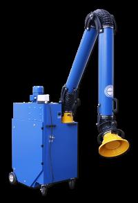 Rollout unit with Oskar 1630P fume arm