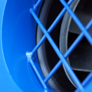 smooth cones and protective mesh on inlet