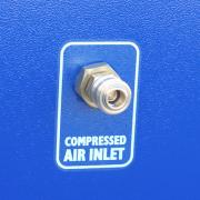 wbudowany system oczyszczania wkładów filtracyjnych