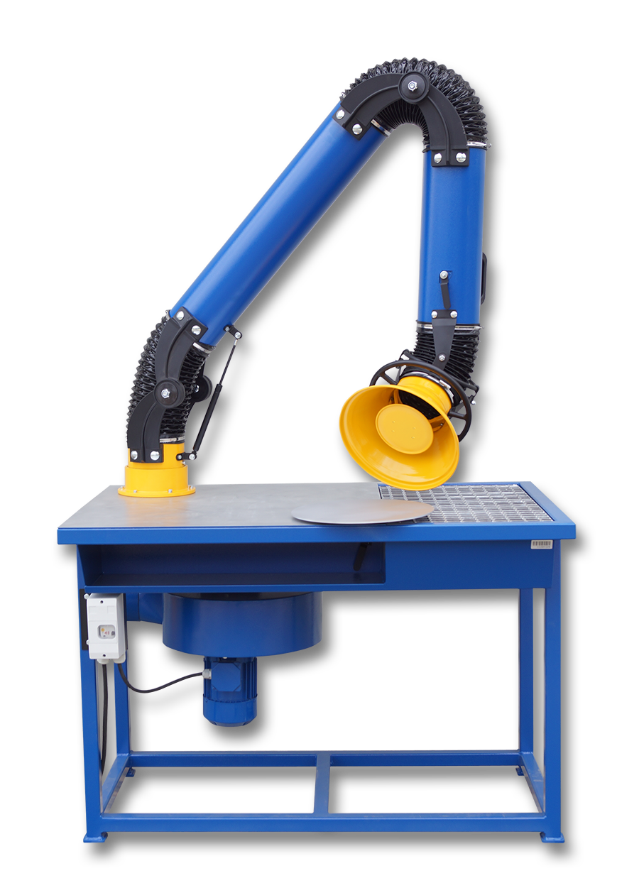 Welding Table With Fume Extraction System